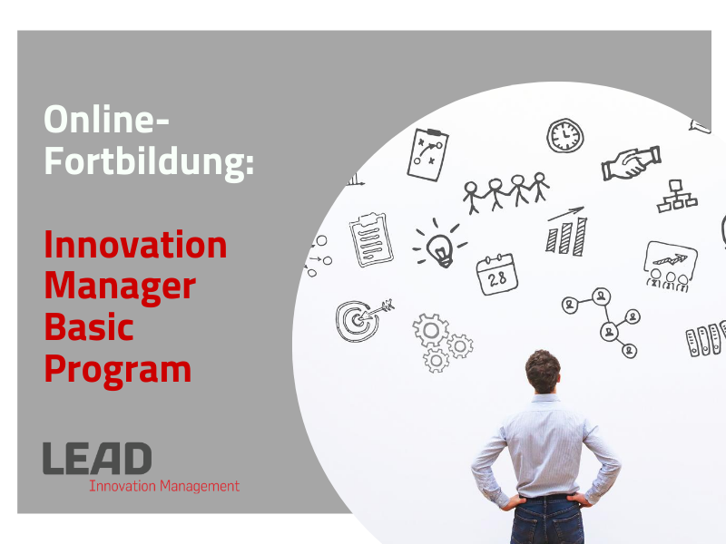 Online-Fortbildung zum Innovationsmanager - Basic Program
