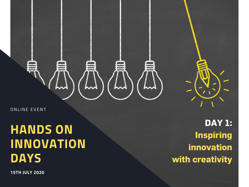 Hands-on Innovation Days - Creativity Ticket 15th of July 2020