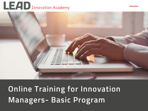 Online Training: Innovation Manager - Basic Program