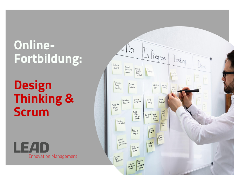 Online Fortbildung: Design Thinking & Scrum