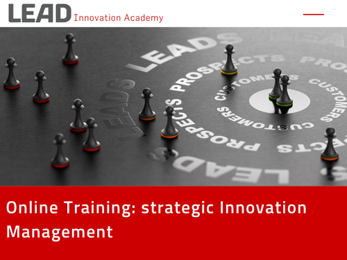 Online Training: strategic innovation management