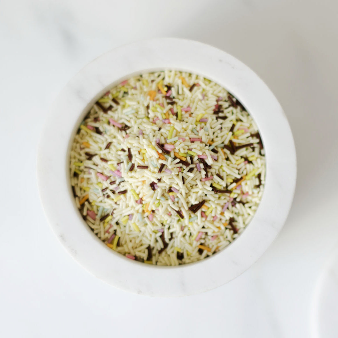 White Chocolate Confetti Sprinkles