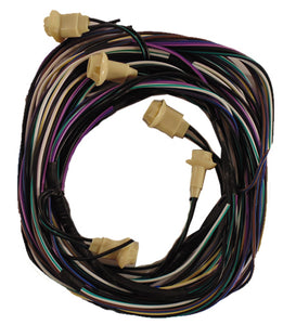 Dodge wiring harness for trucks without factory roof lights