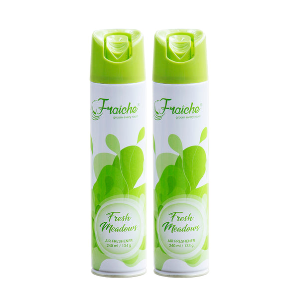 240ml Airfreshener-Fresh  meadows-Pack Of 2