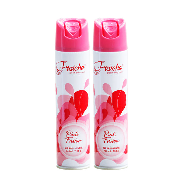 240ml Airfreshener-Pink Fusion-Pack of 2