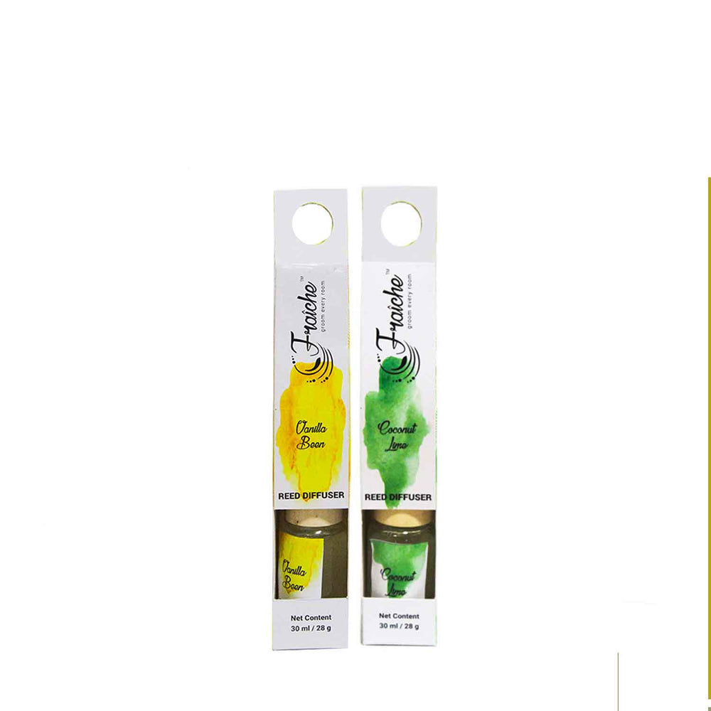 Fraiche Vanilla Bean and Coconut Lime Reed Diffuser | 150 ML