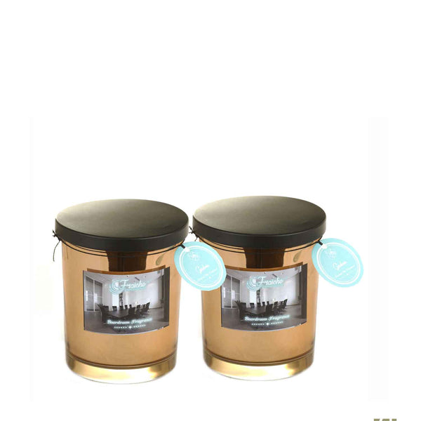 Fraiche Brad Jar pack of 2 | Fragrance: Gardenia