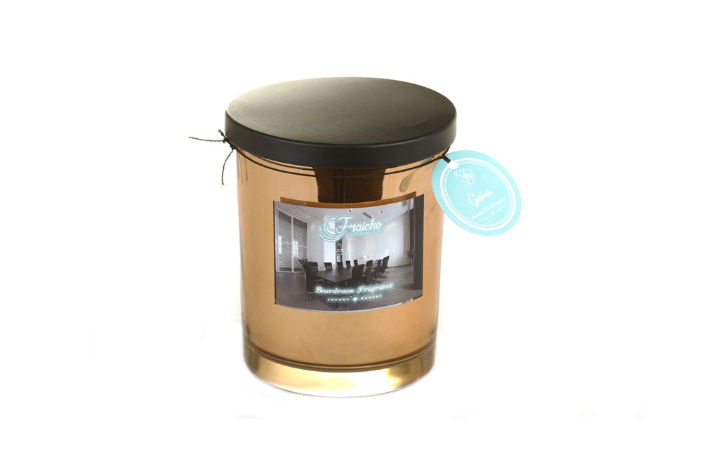 Fraiche Brad Jar Candle | Fragrance: Gardenia | 420gms | Burn Time: 50hrs
