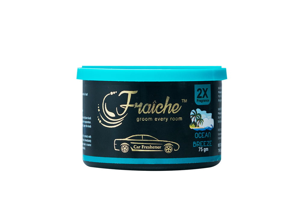 Fraiche Premium Car Freshener Gel | Fragrance: Ocean Breeze | 75gms