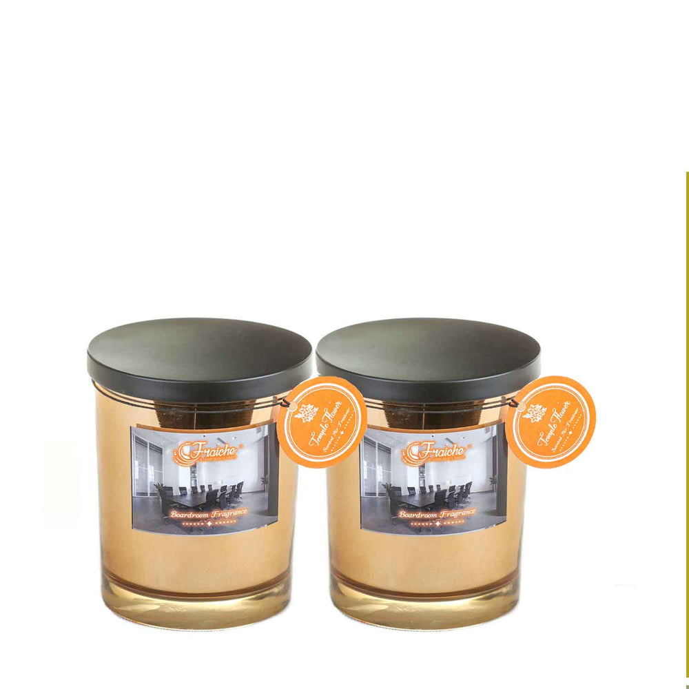 Fraiche Brad Jar Pack of 2 | Fragrance: Temple Flower