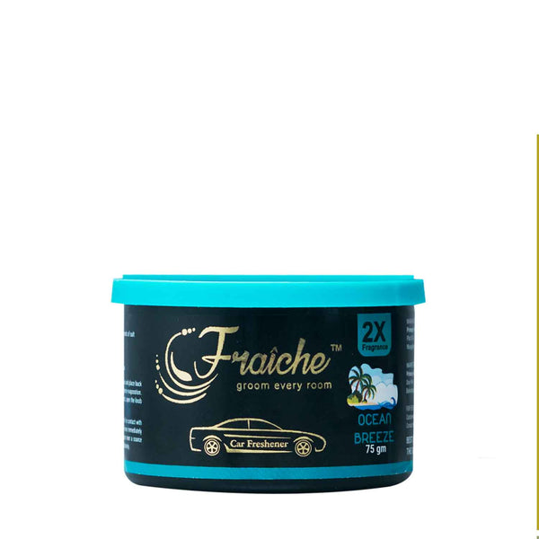 Fraiche Scented Premium Car Freshener Gel | Fragrance : Ocean Breeze | 75 grams