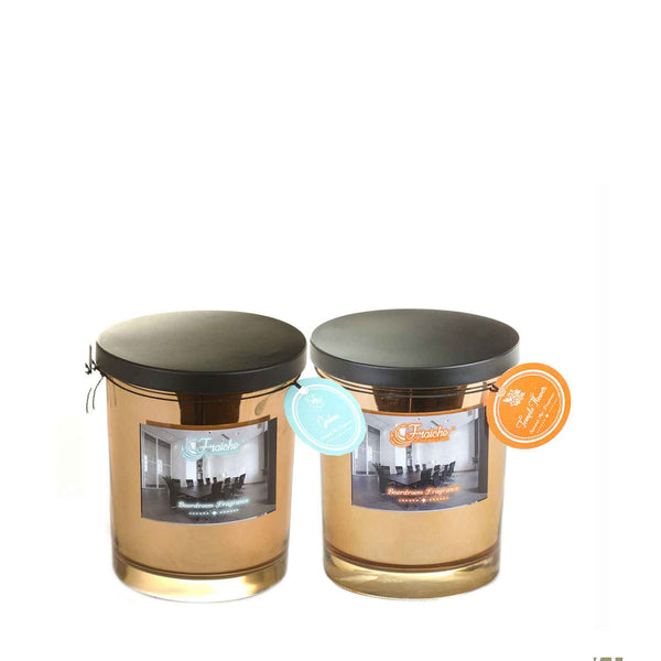 Fraiche Brad Jar | Fragrances: Temple Flower and Gardenia