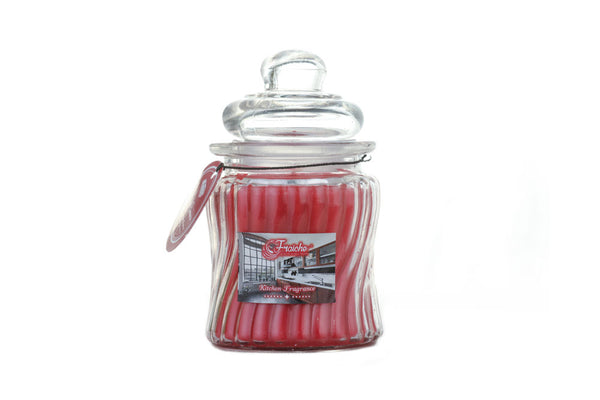 Ribbed Jar Candle - 250gms - Spiced Cinnamon