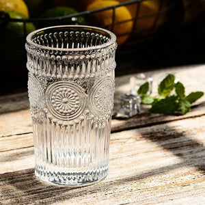 Antique Water Glass - Glass Cup