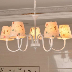Carissa Classic Cottage Chandelier - Cottage Chandelier