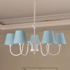 Carissa Classic Cottage Chandelier - Light Blue - Cottage Chandelier