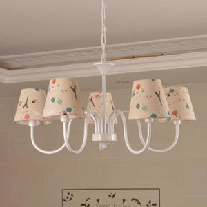 Carissa Classic Cottage Chandelier - Paris Trees - Cottage Chandelier