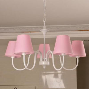 Carissa Classic Cottage Chandelier - Pink - Cottage Chandelier