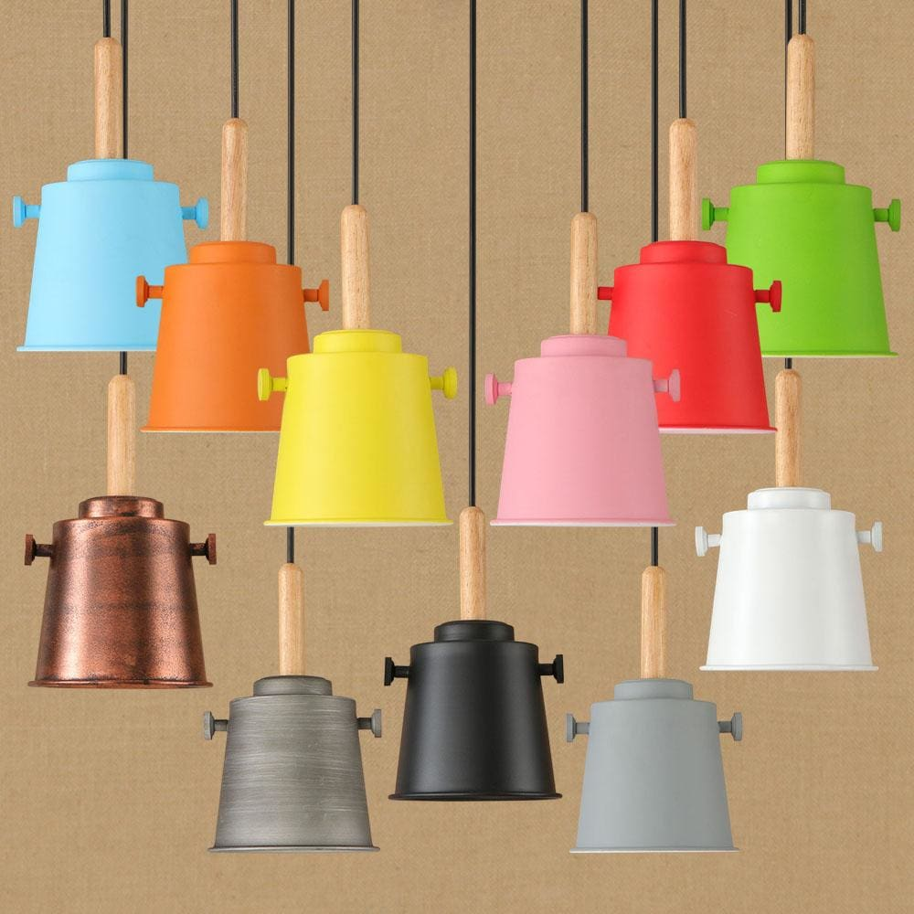Colorful Matte Charlie Lights - Pendant Lights