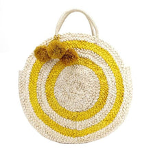 Marjory Beach Bag - Yellow - Beach Bag