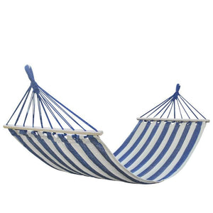 Striped Portable Hammock - Hammock