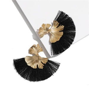 Stunning Susan Earrings - Black - Earrings