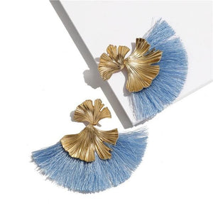 Stunning Susan Earrings - Light Blue - Earrings