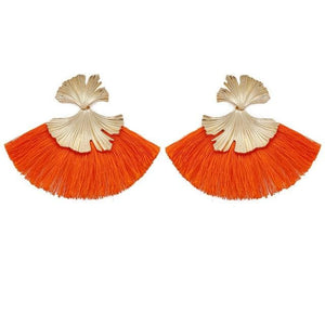 Stunning Susan Earrings - Orange - Earrings