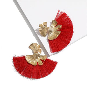 Stunning Susan Earrings - Red - Earrings