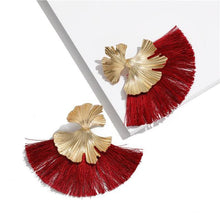 Stunning Susan Earrings - Ruby - Earrings