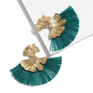 Stunning Susan Earrings - Teal - Earrings