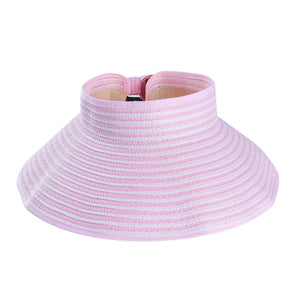Susanna Sun Hat With Bow Detail - Pink - Hat
