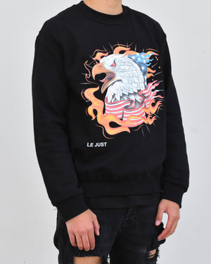 Eagle Sweater Black