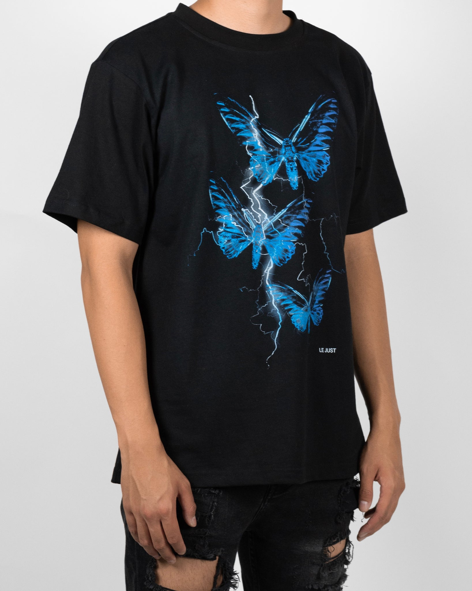 Thunder Butterfly Tee Blue