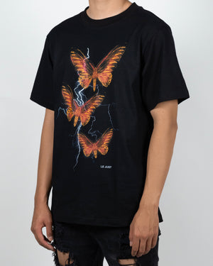 Thunder Butterfly Tee Yellow/Red