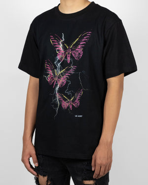 Thunder Butterfly Tee Purple