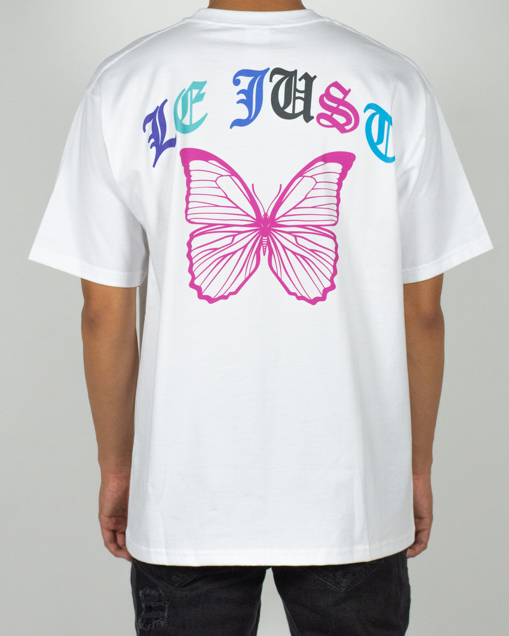 Multicolor Butterfly Tee