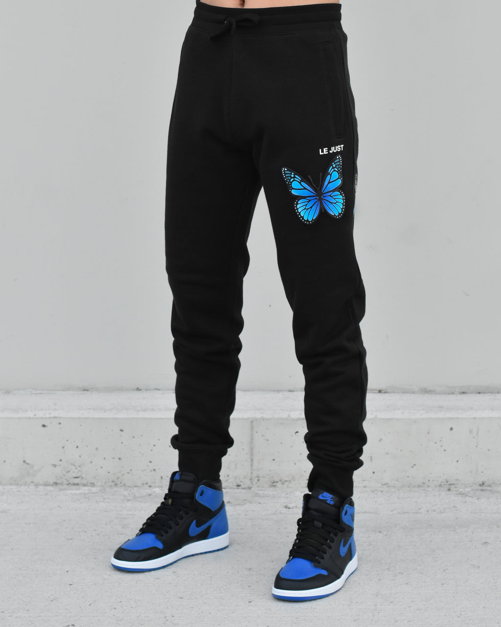 Butterfly Joggers Black