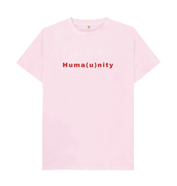Pink Unite For Humanity Tee - Pink