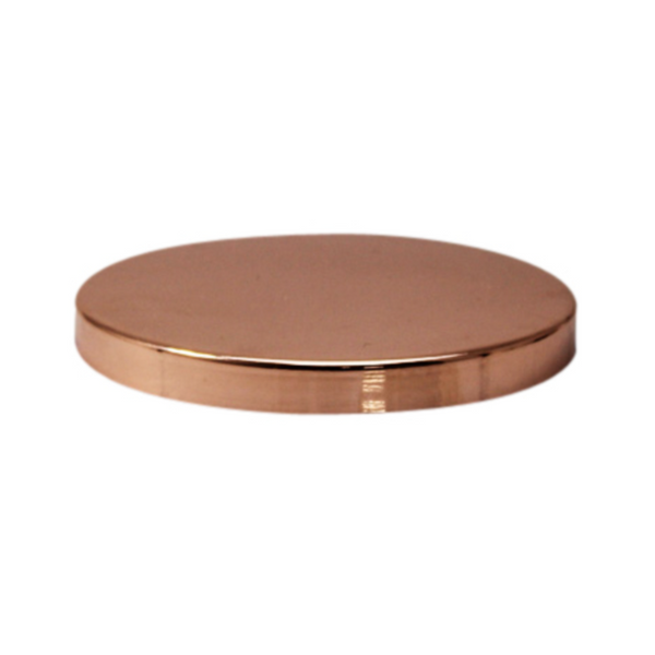 Affirmation Candle Lid Rose Gold