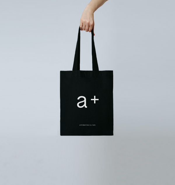 a+ Tote Bag - Black
