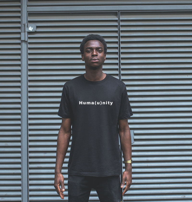 Unite For Humanity Tee - Black