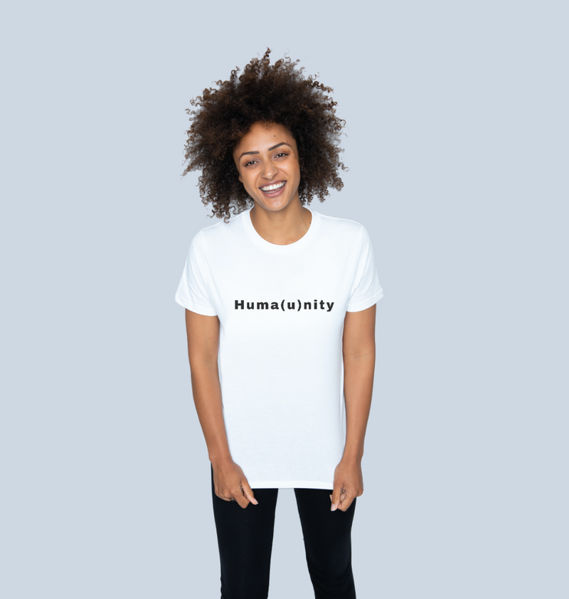 Unite For Humanity Tee - White