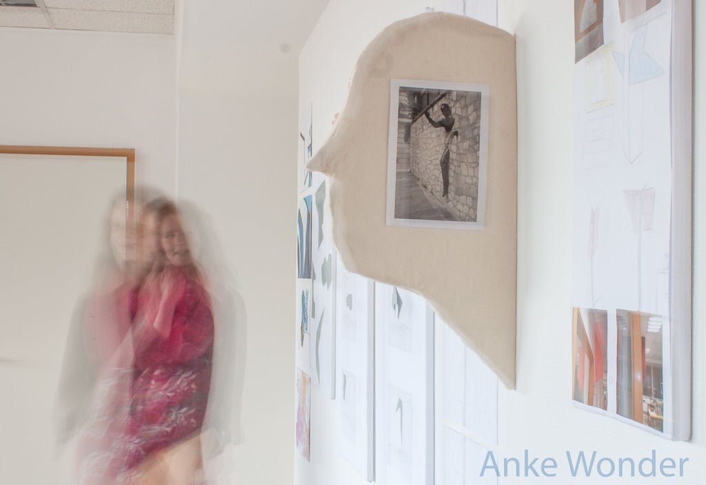 """Presentation project """"Rooms and between rooms"""" by Anke Wonder."""