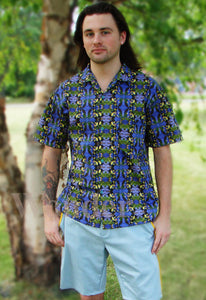 Short-sleeve Bird Lovers Shirt - Anke Wonder