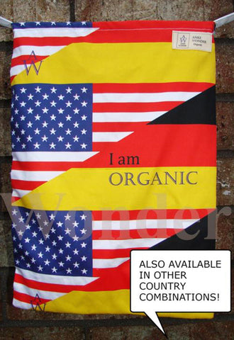 The awareness spreading tote bag: German-American - Anke Wonder