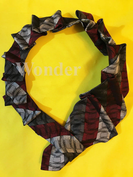 Women´s Necktie Silver-Red - Anke Wonder