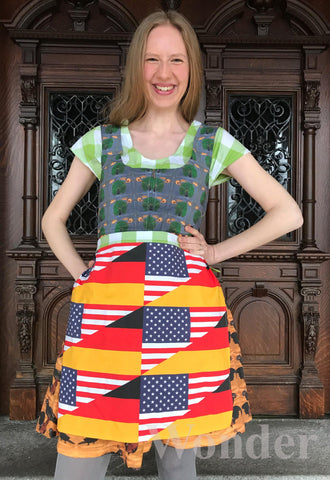 German-American Octoberfest Dirndl - Anke Wonder