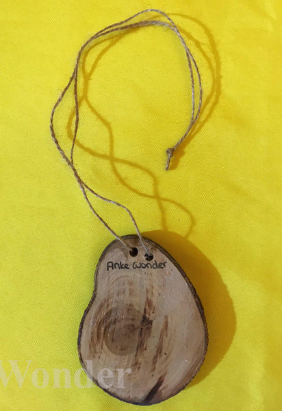 Wooden Cuban Amazons Necklace - Anke Wonder
