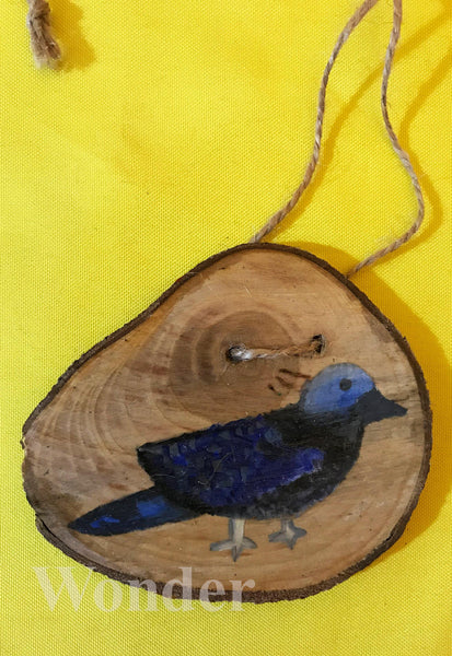 Wooden Hawaiian Dove Necklace - Anke Wonder